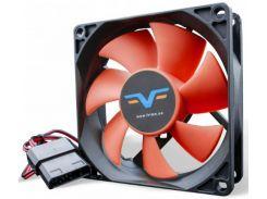 Вентилятор для корпуса Frime FRF80 Black/Red  (FRF80HB4)