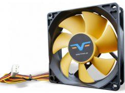 Вентилятор для корпуса Frime FYF80 Black/Yellow  (FYF80HB3)