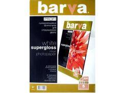 Фотопапір A4 BARVA Profi Суперглянець 5 арк (IP-BAR-P-R255-T01)