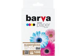 Фотопапір 10x15 BARVA Profi Суперглянець 100 арк (IP-BAR-P-R255-265 )