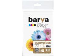 Фотопапір 10x15 BARVA Profi Суперглянець 20 арк (IP-BAR-P-R255-221)