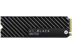 Твердотільний накопичувач Western Digital SN750 2280 PCIe 3.0 NVMe 500GB WDS500G3XHC Black