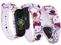 Ремінець Climber for Xiaomi Mi Band 4 - Climber Color Band Hello Kitty