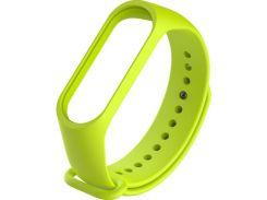 Ремінець Climber for Xiaomi Mi Band 4 - OriginalStyle Silicone SingleColor Light Green  (CBXM407 Light Green)