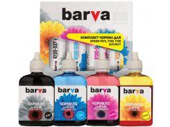 Комплект чорнил Barva for Epson T1301/T1291/T1281/T1031/T0731 Pigmenr B/C/M/Y (4х90g)