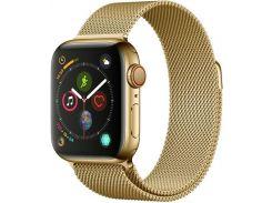 Ремінець HiC Milanese Loop Band for Apple Watch 38/40mm Gold