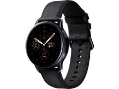 Смарт годинник Samsung Galaxy Watch Active 2 R820 44mm - Stainless steel Black  (SM-R820NSKASEK)