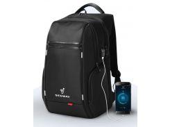 Рюкзак Ninebot by Segway з USB портом Black (K9004W-A)