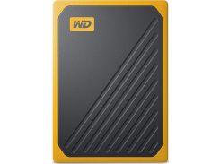 Зовнішній твердотільний накопичувач Western Digital My Passport Go 1TB WDBMCG0010BYT-WESN Yellow