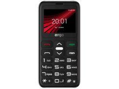 Мобільний телефон ERGO F186 Solace Black  (F186 Solace black)