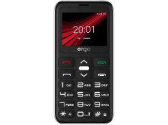 Мобільний телефон ERGO F186 Solace silver  (F186 Solacel silver)