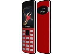 Мобільний телефон SIGMA X-Style 24 Onyx Red  (Sigma X-Style 24 Onyx red)