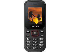 Мобільний телефон Astro A144 Black/Red