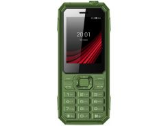 Мобільний телефон ERGO F248 Defender Green