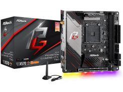 Материнська плата AsRock X570 Phantom Gaming-ITX/TB3  (X570 PHANTOM GAMING-ITX/TB3)