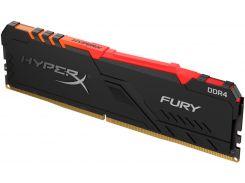 Оперативна пам'ять  Kingston HyperX Fury RGB DDR4 1x8GB HX432C16FB3A/8
