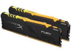 Оперативна пам'ять  Kingston HyperX Fury RGB DDR4 2x16GB HX434C16FB3AK2/32
