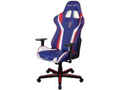 Крісло DXRACER Formula OH/FH00/NR Blue/White/Red  (OH/FH186/IWR)