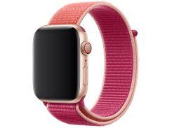 Ремінець Apple Sport Loop for Apple Watch 44mm - Pomegranate  (MWU02)