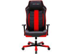 Крісло для геймерів DXRACER BOSS OH/BF120/NR чорне з червоними вставками