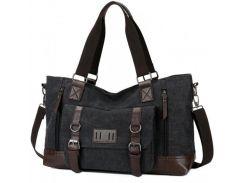 Дорожня сумка Manjian Manjian Retro 1324 Black  (Сумка Manjian Retro 1324 Black)