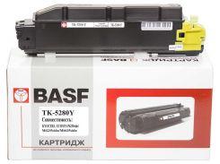 Туба-тонер BASF for Kyocera Mita ECOSYS P6235/TK-5280Y аналог 1T02TWANL0 Yellow