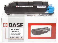 Туба-тонер BASF for Kyocera Mita ECOSYS P6235/TK-5280C аналог 1T02TWCNL0 Cyan