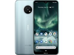 Смартфон Nokia 7.2 4/64GB Ice Silver  (Nokia 7.2 DS Ice)