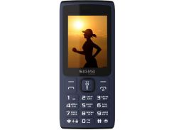 Мобільний телефон SIGMA X-Style 34 NRG Blue