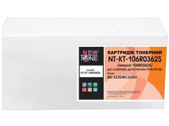Картридж NewTone for Xerox WC 3335/WC3345V аналог 106R03624 Black (Metered)