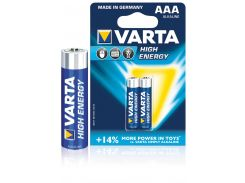 Батарейка Varta High Energy AAA 2 шт.