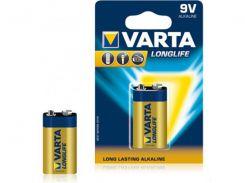 Батарейка Varta Longlife 6LR61 1 шт.