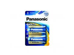 Батарейка Panasonic D EVOLTA LR20 2 шт