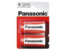 Батарейка Panasonic Photo R20 Red Zink 2 шт