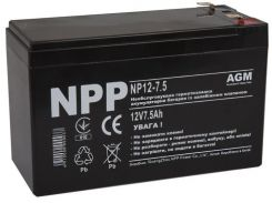 Батарея для ПБЖ NPP 12V 7.5AН