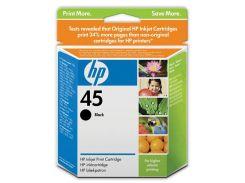 Картридж HP No 45 DJ9xx, 11xx Black