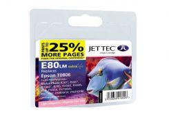 Картридж Jet Tec E80LM  Epson Stylus Photo P50/PX660/PX720WD світло-малиновий