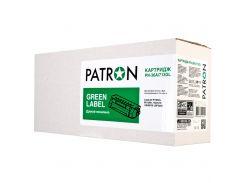 Картридж PATRON HP LJ CB436A/Canon 713 GREEN Label