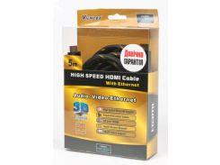 Кабель Viewcom HDMI / HDMI 5 м Black (VD 515-5м.)