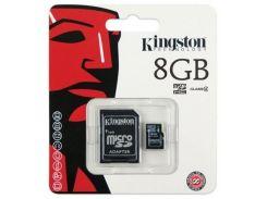 Карта пам'яті Kingston microSDHC 8 ГБ (SDC4/8GB)