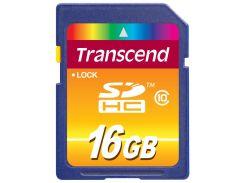 Карта пам'яті Transcend SDHC 16ГБ (TS16GSDHC10)