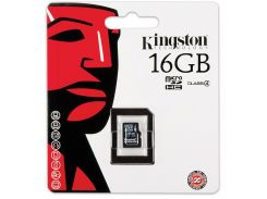 Карта пам'яті Kingston Micro SDHC 16 ГБ (SDC4/16GB)
