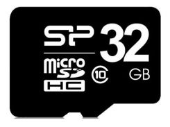 Карта пам'яті Silicon Power micro SDHC 32 ГБ (SP032GBSTH010V10)