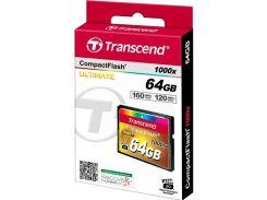 Карта пам'яті Transcend CF 1000X 64 ГБ (TS64GCF1000)