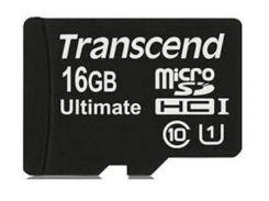 Карта пам'яті Transcend UltimateX600 microSDHC 16ГБ (TS16GUSDHC10U1)