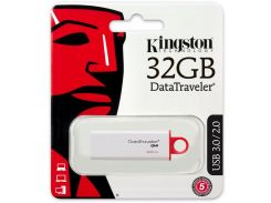Флешка USB Kingston Data Traveler G4 (DTIG4/32GB) Red