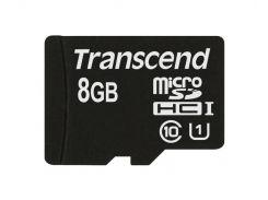 Карта пам'яті Transcend UHS-1 MicroSDHC 8 ГБ (TS8GUSDHC10U1)