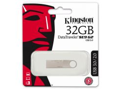Флешка USB Kingston DataTraveler SE9 G2 32 ГБ (DTSE9G2/32GB)