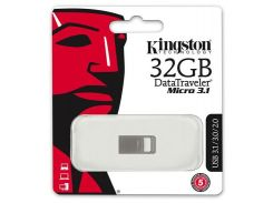 Флешка USB Kingston DT Micro 3.1 32 ГБ (DTMC3/32GB)