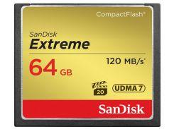 Карта пам'яті SanDisk CF eXtreme 64 ГБ (SDCFXSB-064G-G46)